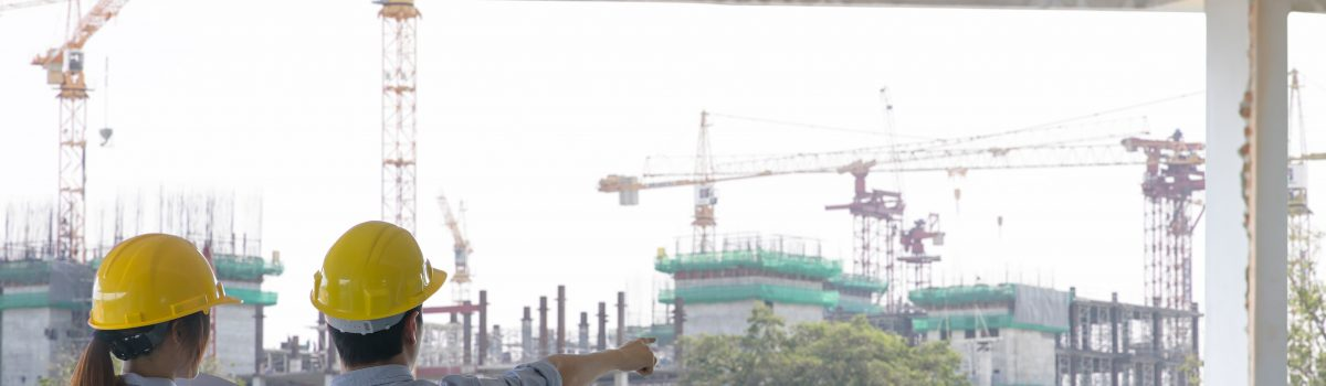 Asbestos removal in construction